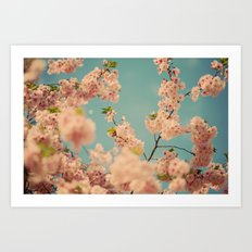 Party in Pink Art Print