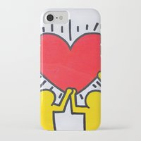 keith haring iPhone & iPod Cases featuring Keith Haring by Et Voilà
