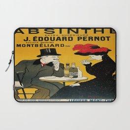 Vintage poster - Absinthe Laptop Sleeve