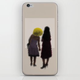 She tried, but all she could see was the missing picture iPhone Skin