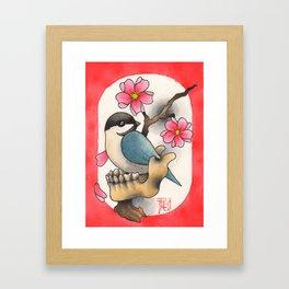 CHICKBONE Framed Art Print