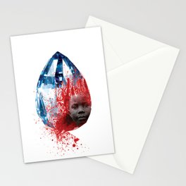 """Blood Diamond"" by Keith Moses Wardlaw A.K.A. kmoses215 Stationery Cards"
