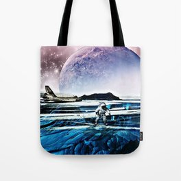 Translucent Planet by GEN Z Tote Bag