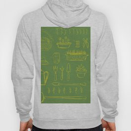 Gardening and Farming! - illustration pattern Hoody