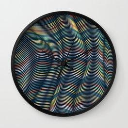 Flexible Lines 13 Wall Clock