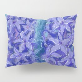 Hyacinths, blue and violet Pillow Sham