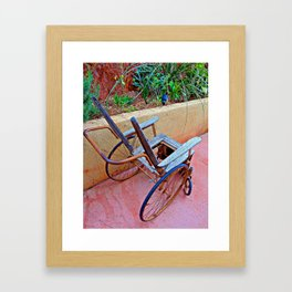Confined to the Garden Framed Art Print