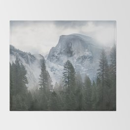 Majestic Mountain Throw Blanket
