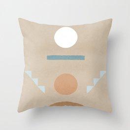 Pinball Minimal boho and also geometric Throw Pillow