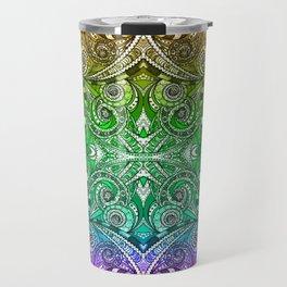 Drawing Floral Zentangle G206 Travel Mug