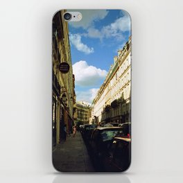 Paris in 35mm Film: Rue Malher in Le Marais iPhone Skin