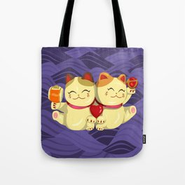"""FortuNEKO - """"Toffee & Candy"""" Tote Bag"""