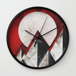 Mount kamikaze Wall Clock