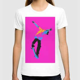 """Flipping the Deck"" Skateboarding Stunt T-shirt"