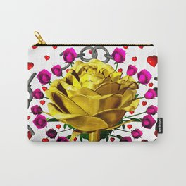 Love rose breaks all chains, hatetolove Carry-All Pouch