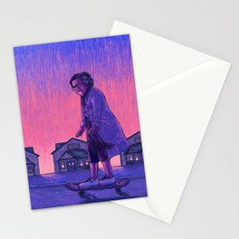 The Skateboarder Stationery Cards