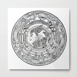 A British Columbia Mandala Metal Print