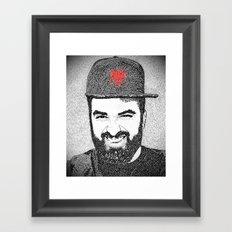 Burri Framed Art Print