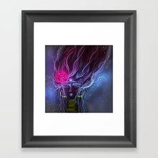 Adjna Framed Art Print