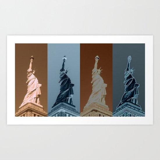 4Liberty Art Print