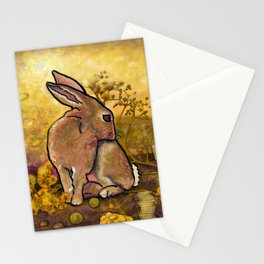 Abundance Bunny Stationery Cards