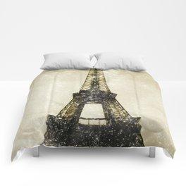 Paris Flea Market Comforters