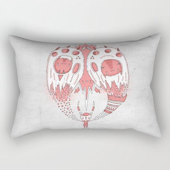 With open arms Rectangular Pillow
