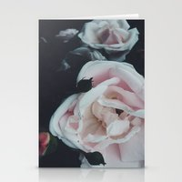 vintage flowers Stationery Cards featuring Vintage Flowers by C O R N E L L