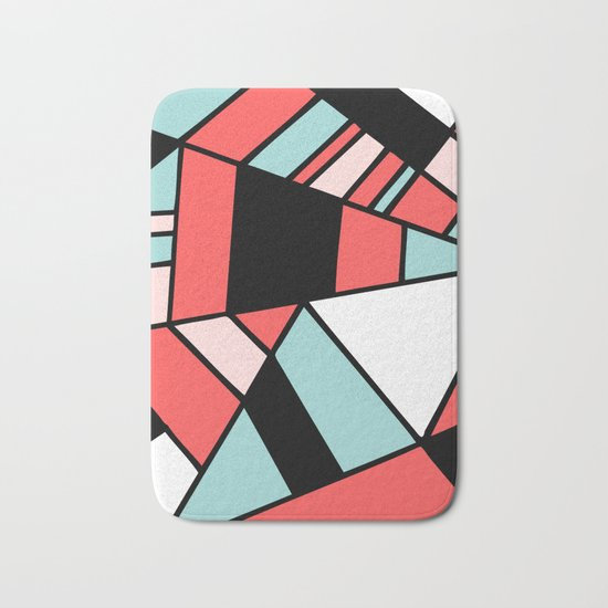 Abstract #451 Bath Mat