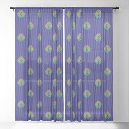 peacock Sheer Curtain