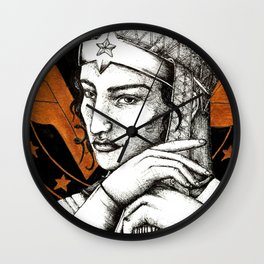 Cap of wonder Wall Clock