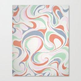 Abstract print design Canvas Print