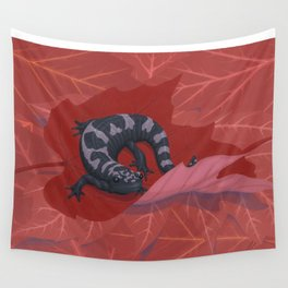 Marbled Salamander Wall Tapestry