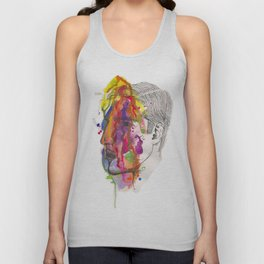 Breathe In Colour Unisex Tank Top