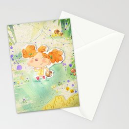 Mushroom hunt Stationery Cards