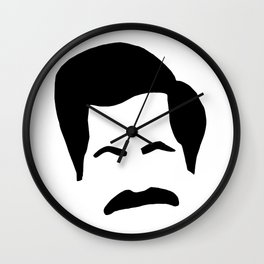 Ron Swanson Parks & Recreation Wall Clock