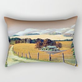Countryside scenery in Iceland. Rectangular Pillow