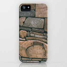 pieces of wood iPhone Case