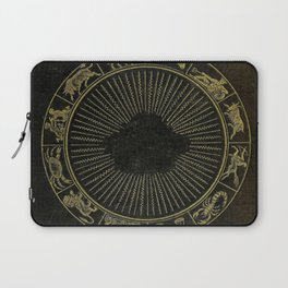 Astrology Book Cover Laptop Sleeve