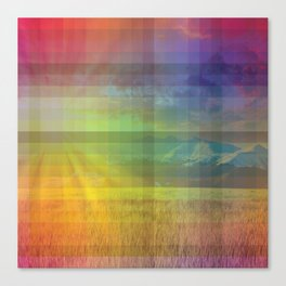 Life in Full Colour Canvas Print