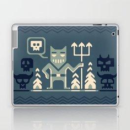 Skull collector Laptop & iPad Skin