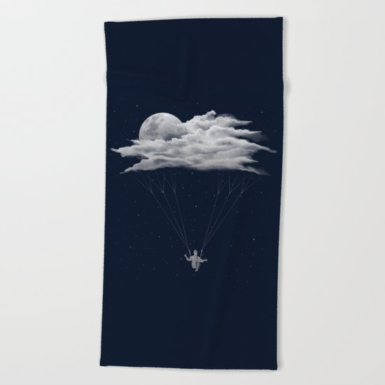 Skydiving Beach Towel