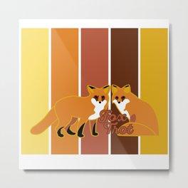 Fox Trot 2.0 Metal Print