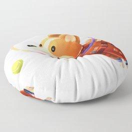 Astronaut Corgi Floor Pillow