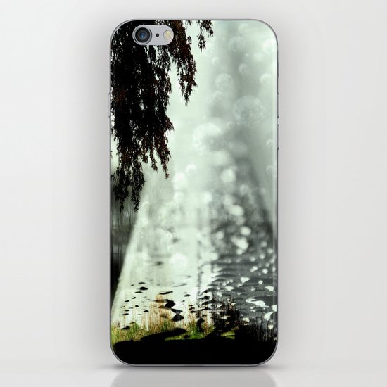 Dreamer on the Slippery Slope iPhone & iPod Skin