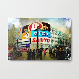 London VII - Piccadilly Circus Metal Print
