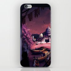 When the boats come in iPhone & iPod Skin