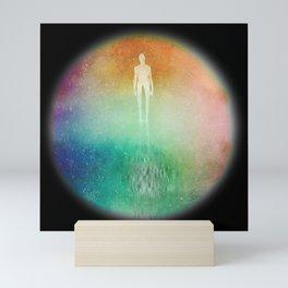 Psychedelic Mystery Man #5 - Circle Mini Art Print