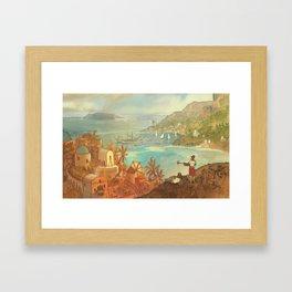 Provincial Polynesia Framed Art Print