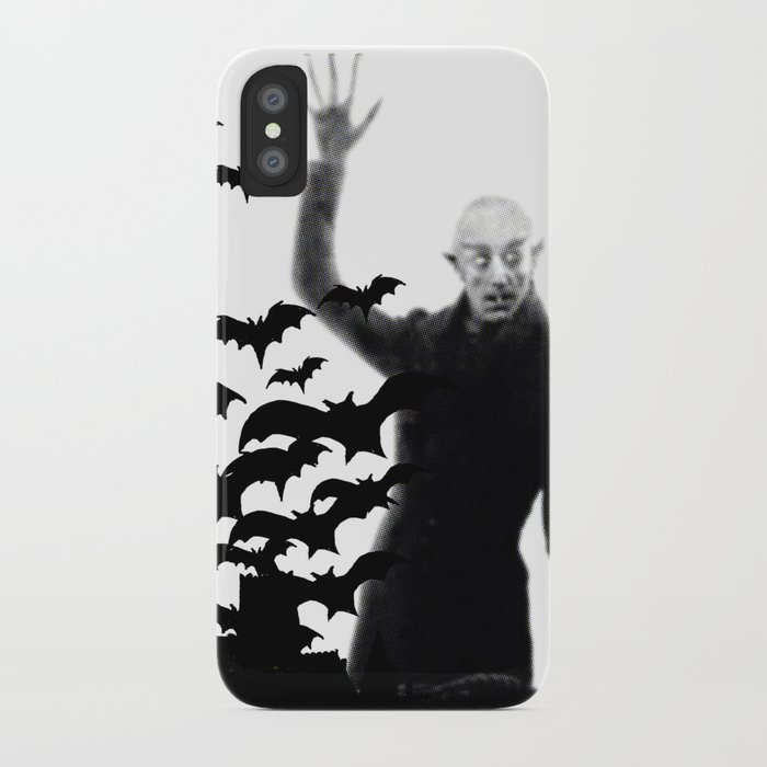 Nosferatu - the real bat iPhone Case